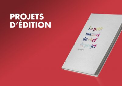 Projets d'édition
